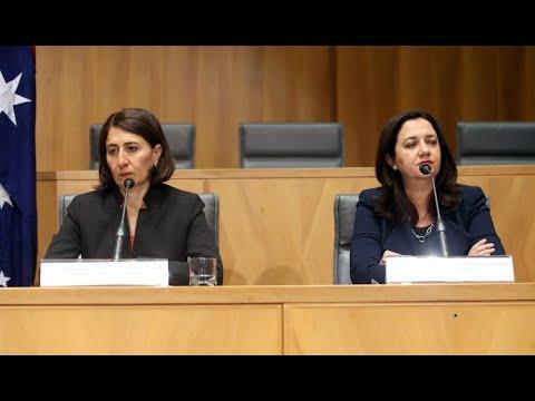 Week in Politics: State Premiers battle over borders