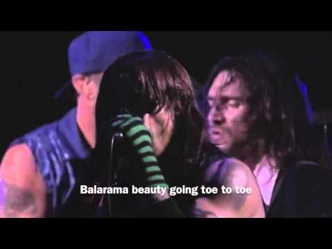 Red Hot Chili Peppers - Wet Sand (Live Fuji Rock 2006) (Lyrics)