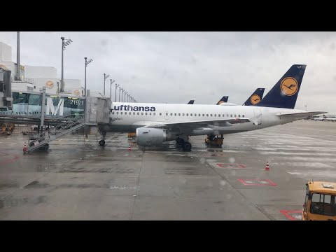 DISAPPOINTING LUFTHANSA BUSINESS CLASS | TRIP REPORT |  MUNICH TO LONDON HEATHROW | A319 | LOUNGE