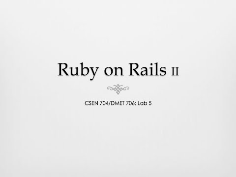 Ruby on Rails — eShop (Part 2)