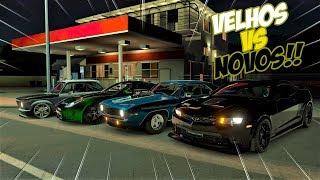 VELHOS VS NOVOS - BMW 2002 TURBO VS CAMARO 69 VS CAMARO 2012 VS F-TYPE - FORZA HORIZON 3