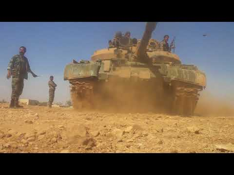 Танки сирийской армии