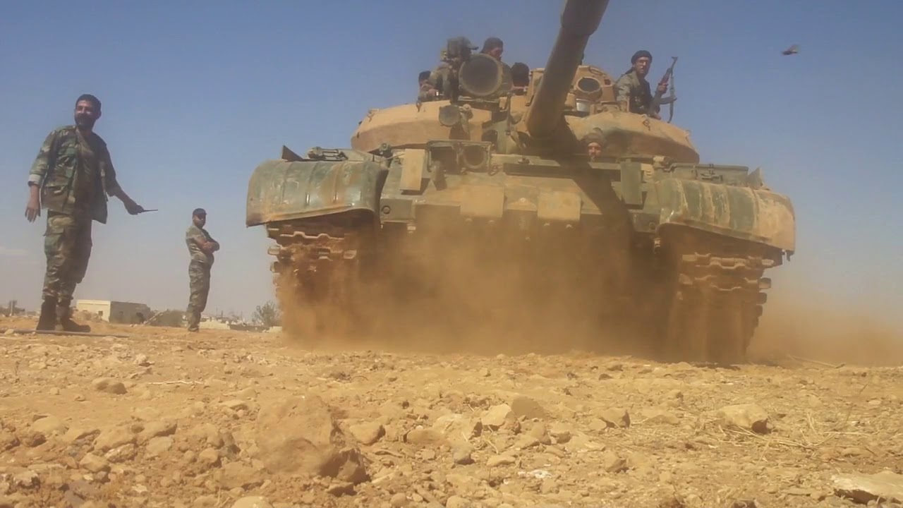 Сирийская армия теснит террористов в провинции Хама