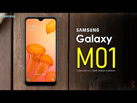 Samsung Galaxy M01 Price, First Look, Design, Specifications, Camera, Features