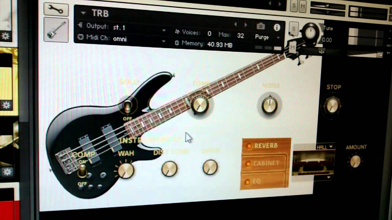 TRB Bass Yamaha (Kontakt Player), Download na descrição do vídeo