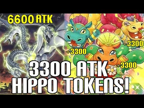 3300 ATK Hippo Tokens & 6600 ATK Kaiju OTK! - Duel Replay & Deck List