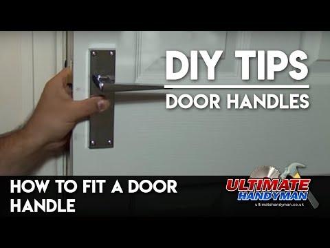 How to fit door handles - Ultimate Handyman DIY tips