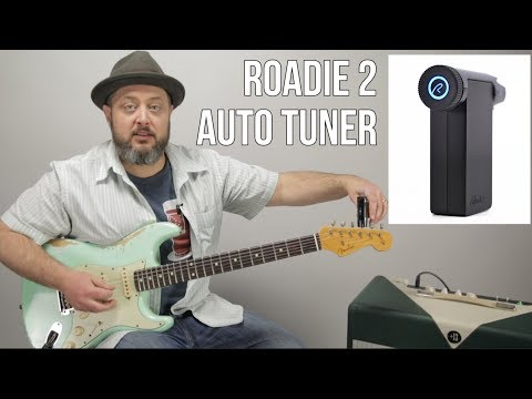 Roadie 2 Automatic Guitar Tuner // AMAZING!! Thursday Gear Videos