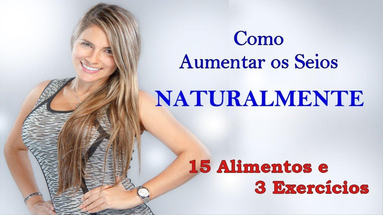 a06e2209b Como Aumentar os Seios Com 15 Alimentos Naturais e 3 Exercícios Fáceis
