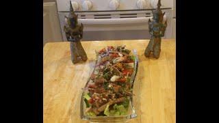 Moo Manao Thai Recipe Spicy Pork Salad หมูมะนาว