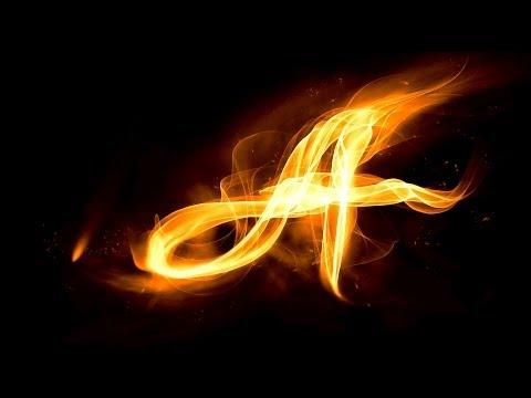 Урок_33_Adobe Photoshop CS5! Создание огненного лого!
