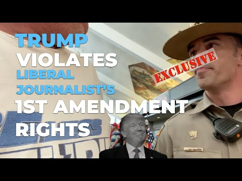 Trump Violates Liberal Journalist's 1st Amendment Rights: Trailer
