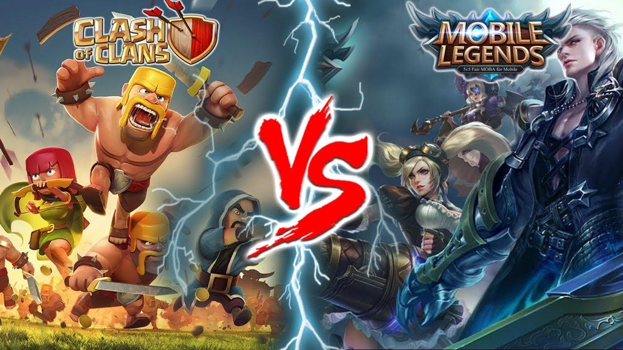 Benarkah  Alasan Ini Penyebab Mobile Legends Mengalahkan Clash Of Clans