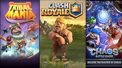 Top 5 Games like Clash Royale | Similar games to Clash Royale 2018 | ( PART:-2)