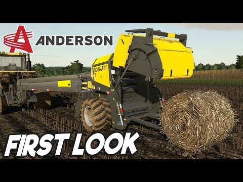 ANDERSON DLC FS19 - First Look Gameplay! (Early Access)