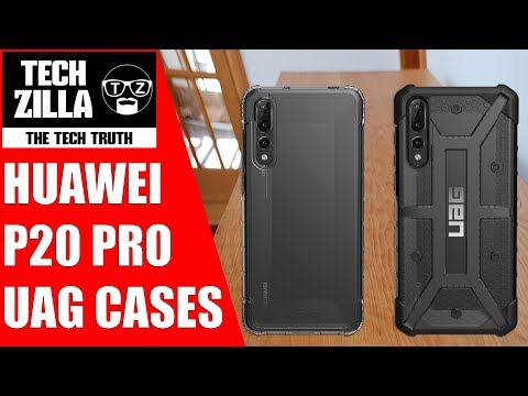 premium selection 1f8be d0566 Huawei P20 Pro UAG Plasma & Plyo Case Review - YouTube