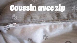 Ce tuto de couture vous apprend à faire une housse de coussin qui se ferme par un zip - fermeture éclair facilement !! Vous verrez les astuces pour coudre le zip ...