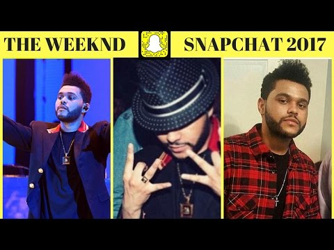 THE WEEKND SNAPCHAT (*2017*)