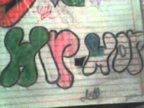 Graffitis A Lapiz Chidos Youtube