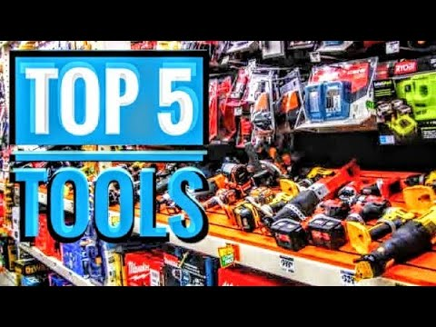 Top 5 Tools For Woodworking