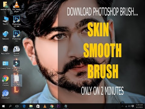 How To Download And Use Skin Smooth Brush | Photoshop Tutorial | Z.S PICTURES|