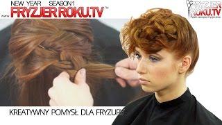 Kreatywny pomysł dla fryzury. Creative braiding FryzjerRoku.TV