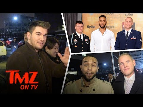 Clint Eastwood's '15:17 to Paris' Stars Want A Shot At Hollywood | TMZ TV