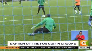Baptism of fire for Gor in group D