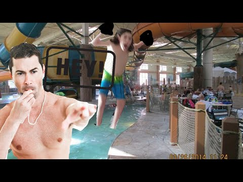 KIDS GET KICKED OUT OF GREAT WOLF LODGE!!