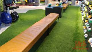 J&S Flooring System: Sport Shop -Artificial Grass Carpet 運動舖-人造草毯工程