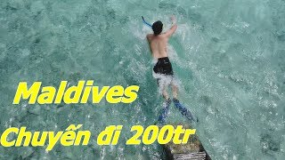 Hành trình tới Maldives của Tiền và Tuyết - Chuyến du lịch hơn 200tr