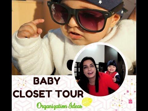 BABY CLOSET TOUR | How to organize small closet | Organization Ideas