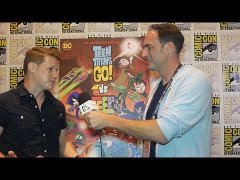 Comic Con 2019 Jeff Mednikow Director And Producer Of Teen Titans Go Vs Teen Titans