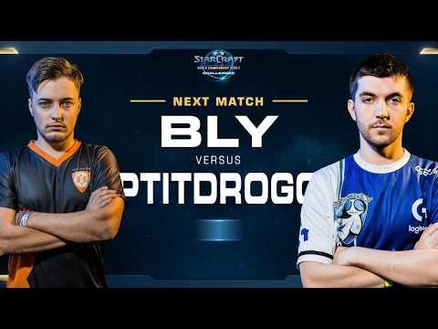 PtitDrogo vs Bly ZvP –  WCS Challenger 2018 Season 1 – Europe