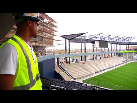 Stadium Tour with Teal Bunbury: LIVESTRONG Sporting Park