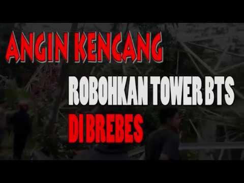 ANGIN KENCANG ROBOHKAN TOWER BTS!!