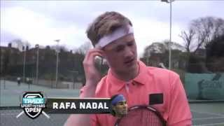 Josh Berry Tennis Impressions - The Ultimate Tennis Impersonator