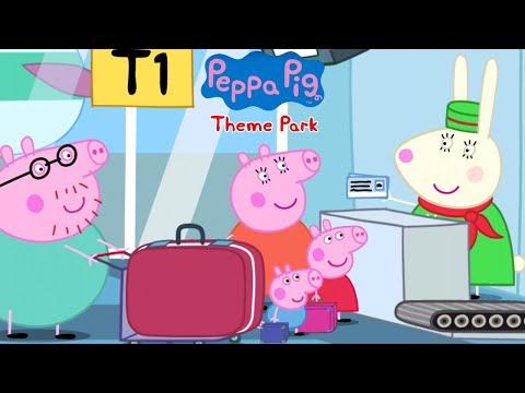 Peppa Pig: Holiday - Peppa Family At The Airport