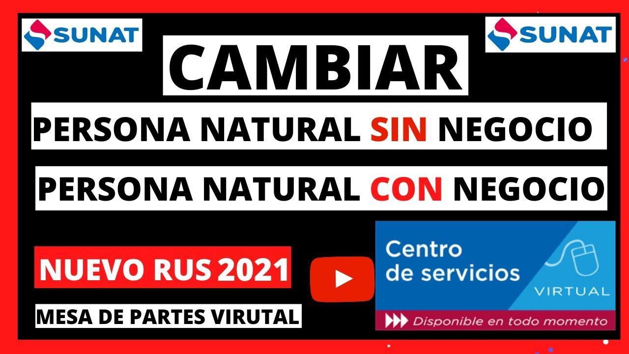 ⭐️ COMO ACTIVAR NUEVO RUS Para PERSONA NATURAL con NEGOCIO 💥 RENTA DE 3RA CATEGORIA NUEVO RUS 2020 💻
