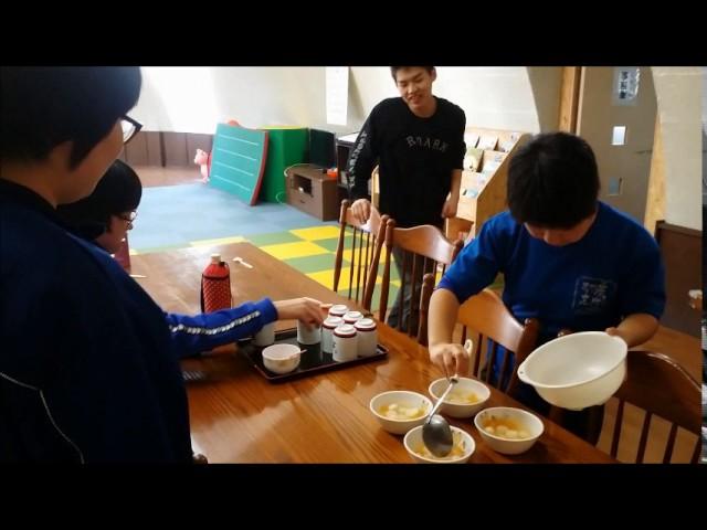 おやつ作りの様子  「白玉フルーツポンチ」|すくすくスクール|石川県加賀市|放課後等デイサービス