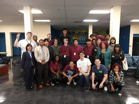 Game industry and practice projects - chat with Job Corps in L.A.
