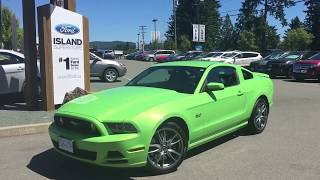 2014 Ford Mustang GT Coupe W/ Nav, Backup Camera Review| Island Ford
