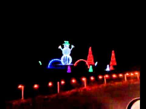 Branson MO Trail Of Lights Jan 1, 2011   YouTube
