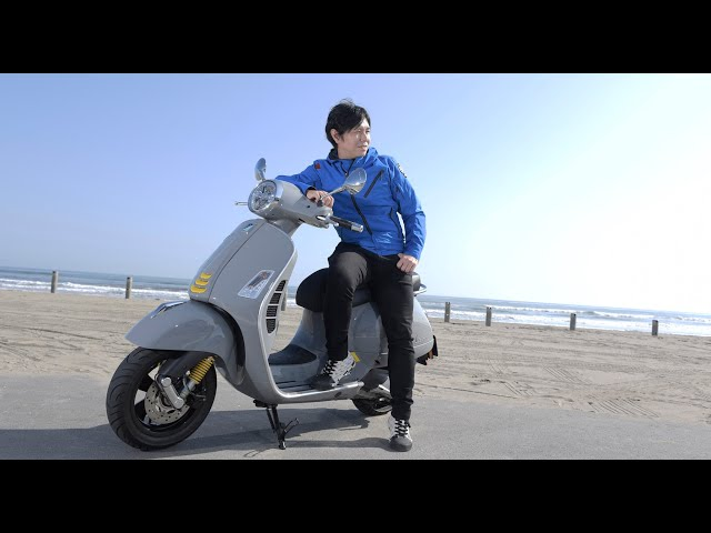 GOGGLE Special Interview 中野真矢×Vespa GTS SuperTech 300/GTS Super 150