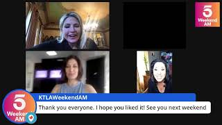 KTLA Friends Live Stream with Weekend AM Anchors