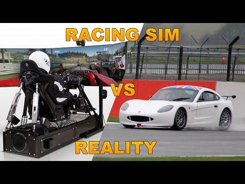 Driving a Ginetta G40 Junior - Virtual vs Reality
