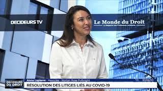 Décideurs du Droit : Résolution des litiges liés au Covid-19