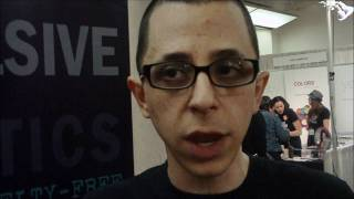 David Klasfield Creator of Obsessive Compulsive Cosmetics Makeup Show NYC 2011 Showcase Thumbnail