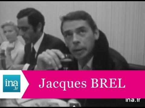 """Jacques Brel """"Je veux m'offrir le temps de me taire"""" Interview exclusive - Archive vidéo INA"""