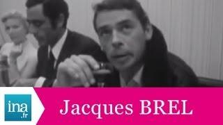 """Jacques Brel """"Je veux m"""